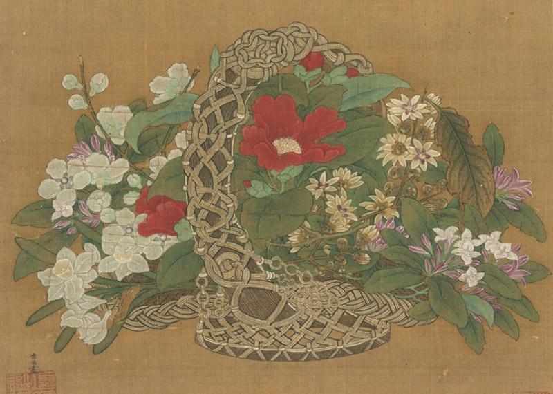 百卉清供-瓶花與盆景畫特展